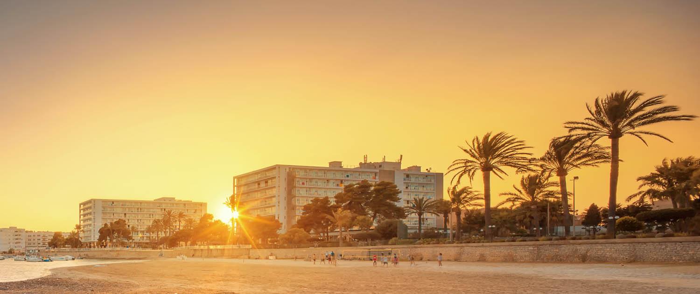 View of Ibiza
