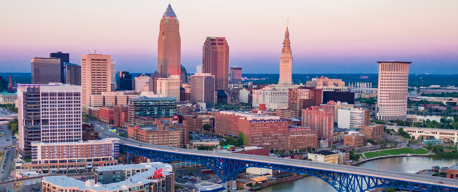 View of Cleveland