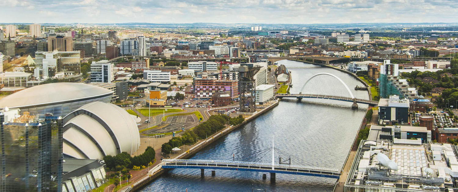 View of Glasgow