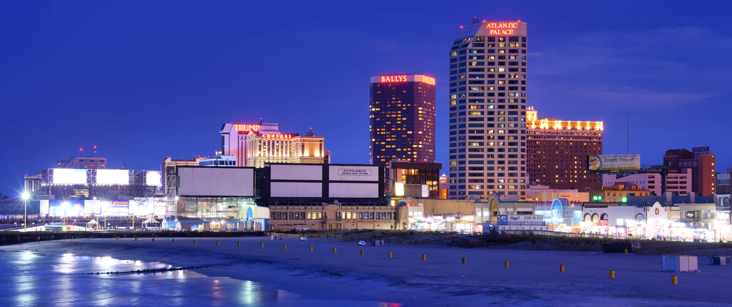 View of Atlantic City