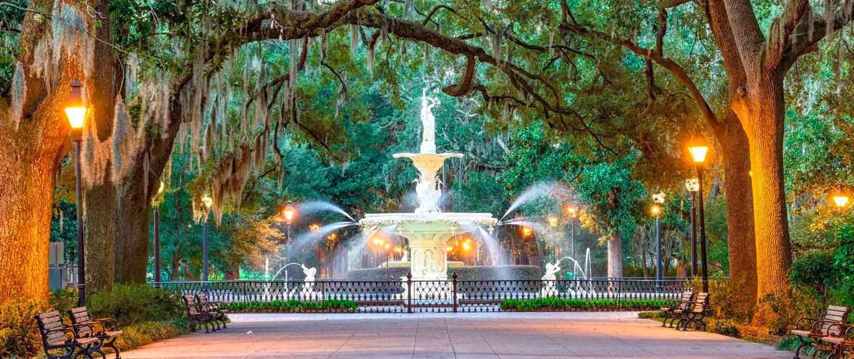 View of Savannah