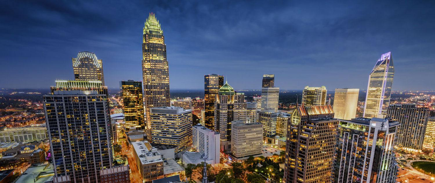 View of Charlotte