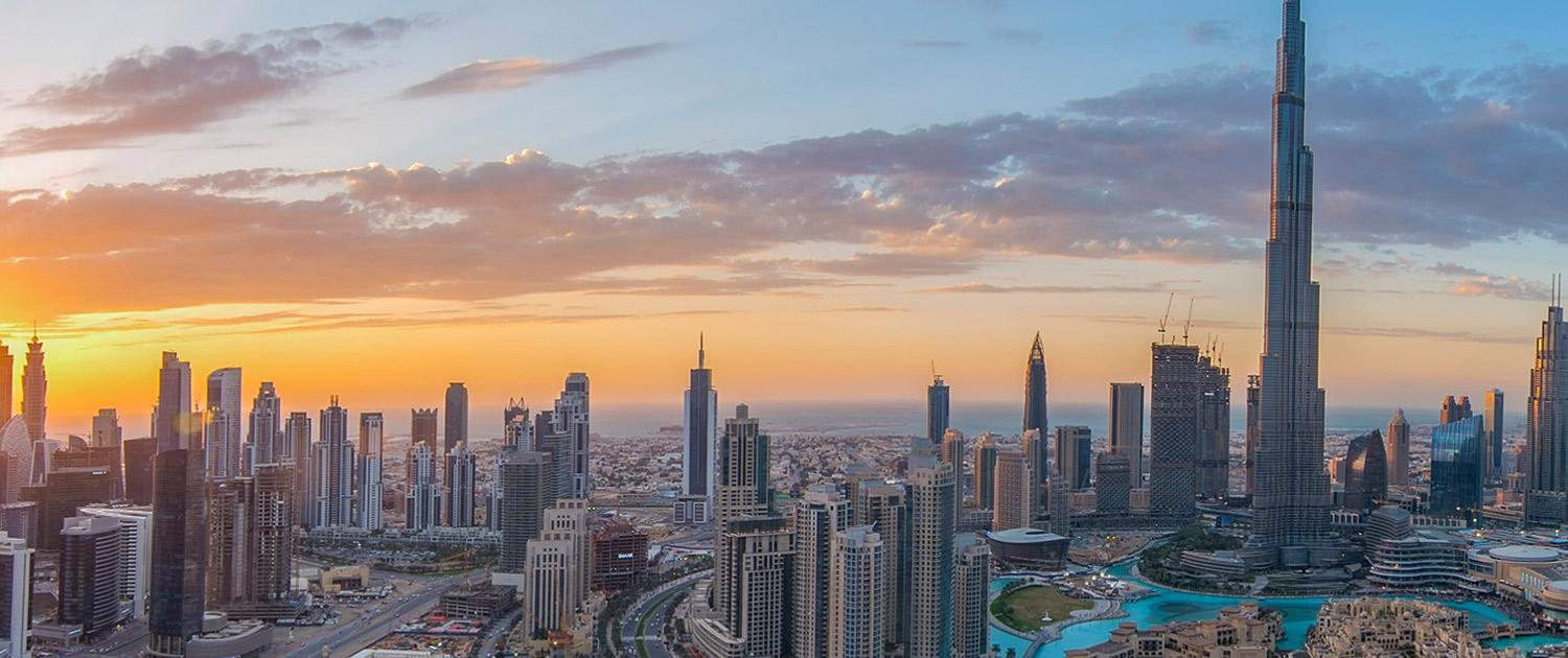 View of Dubai