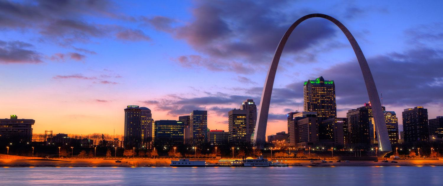 View of St Louis