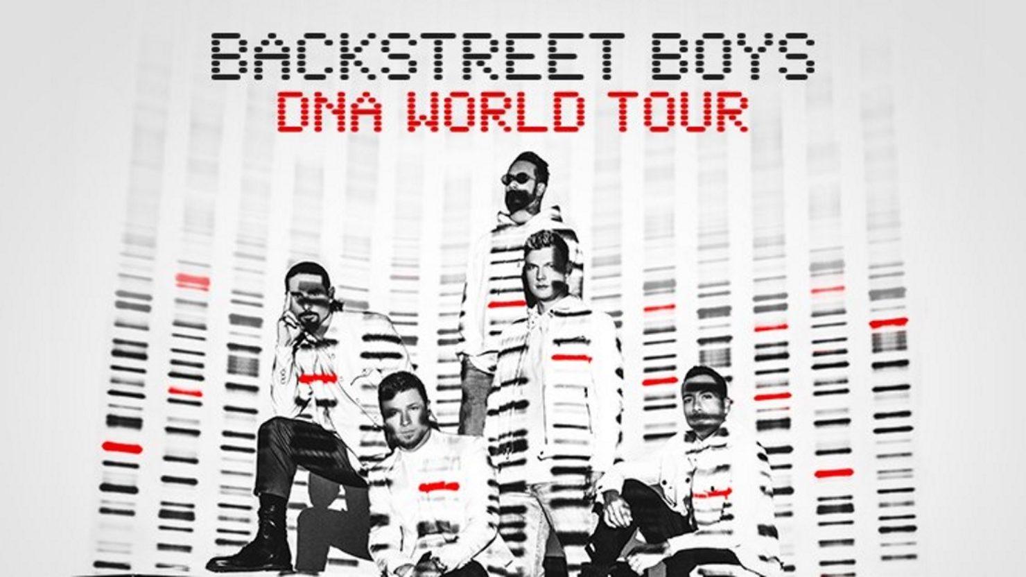 Backstreet Boys DNA Tour Dates - Rescheduled to 2021 Calendar