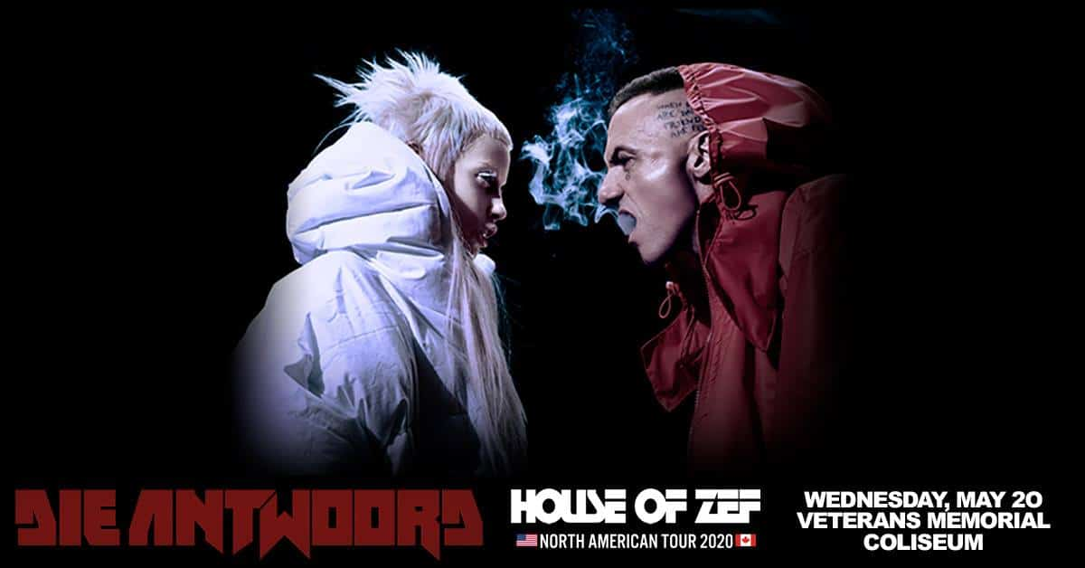 Die Antwoord House of Zef Tour Dates - Rescheduled for 2021 Calendar