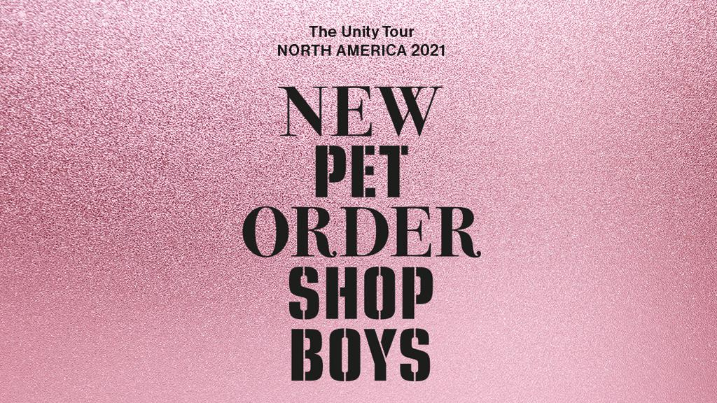 New Order The Unity Tour Dates 2021 Calendar