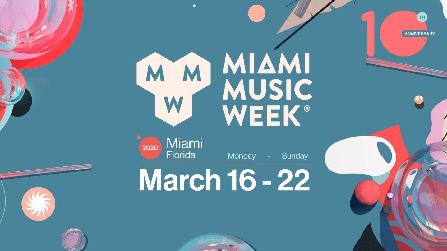 Miami Music Week 2020 Calendar