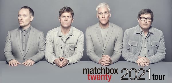 Matchbox Twenty Summer Tour Dates - Rescheduled for 2021 Calendar