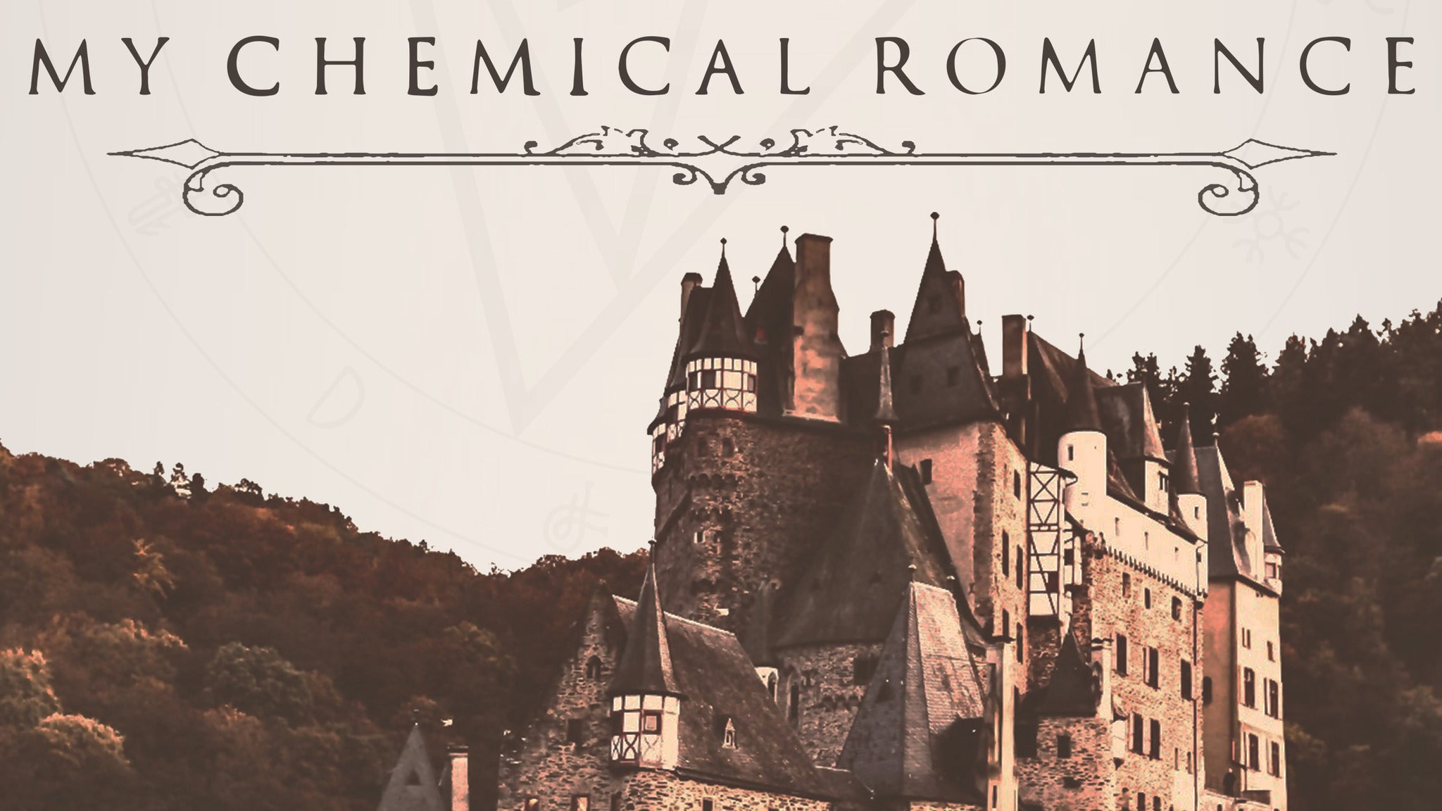 My Chemical Romance North American Tour Dates - Rescheduled for 2021 Calendar
