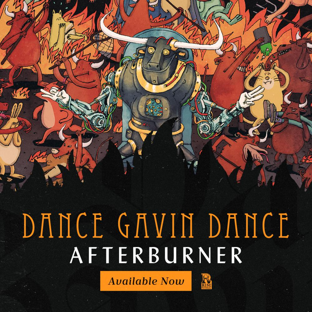 Dance Gavin Dance Afterburner Tour Dates 2021 Calendar