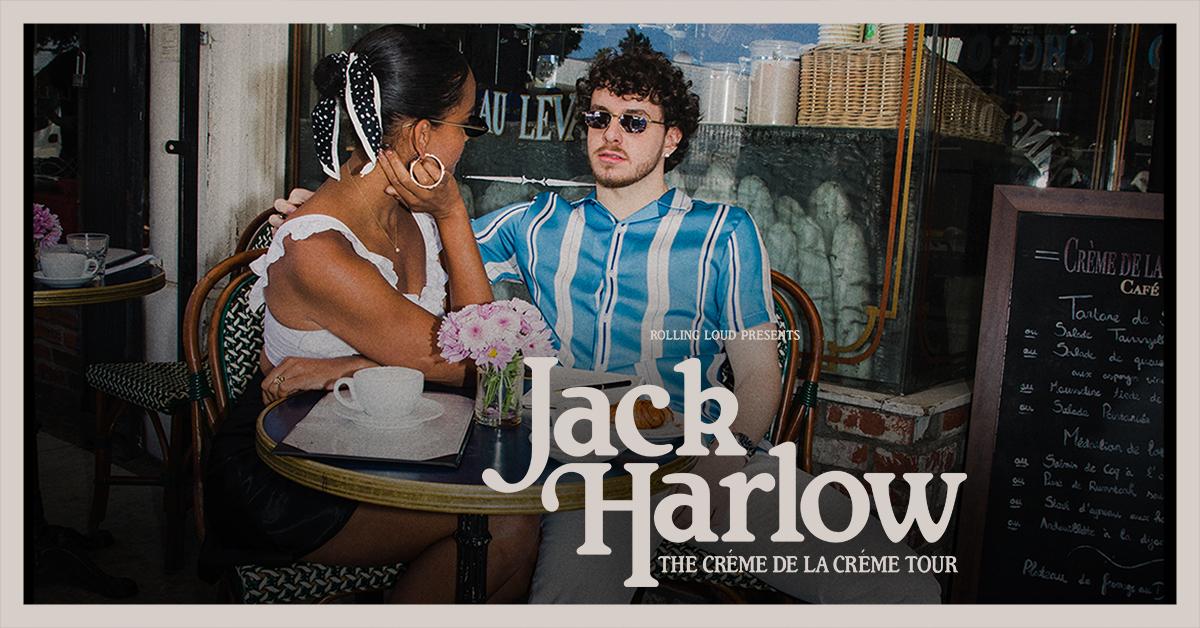 Jack Harlow Creme da la Creme Tour Dates 2021 Calendar
