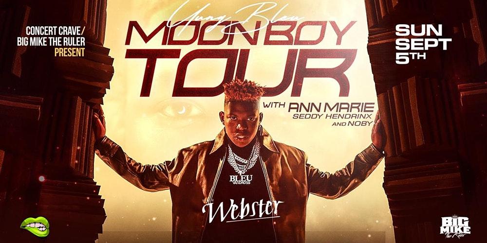 Yung Bleu Moon Boy Tour Dates 2021 Calendar
