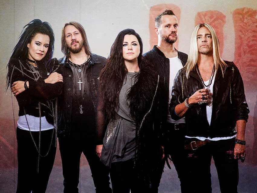 Evanescence Fall Tour Dates 2021 Calendar