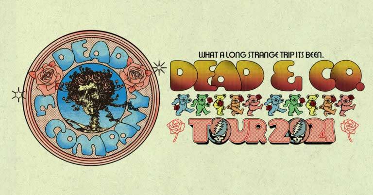 Dead & Company 2021 Tour Dates Calendar