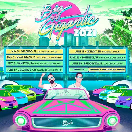 Big Gigantic 2021 Tour Dates Calendar