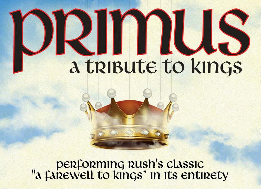 Primus Rush, A Tribute To Kings Tour Calendar