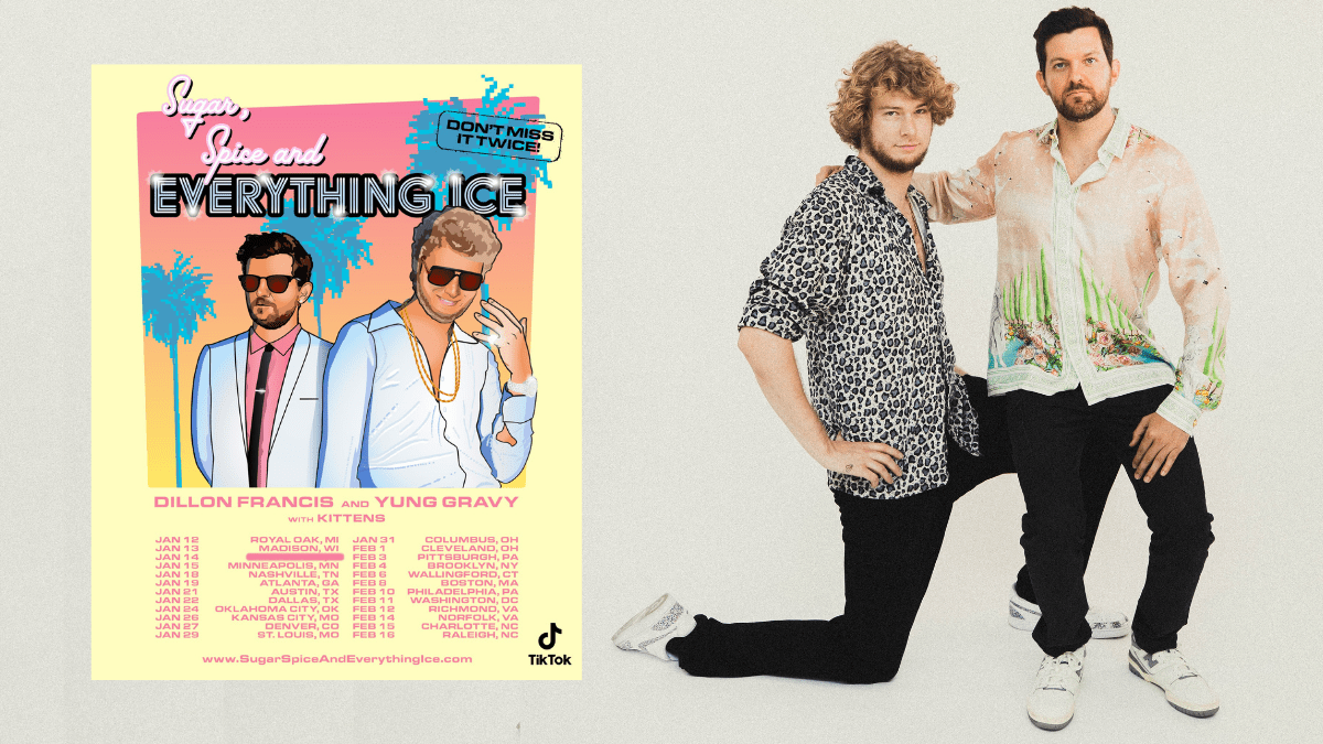 Dillon Francis Sugar, Spice and Everything Ice Tour Dates 2021 Calendar