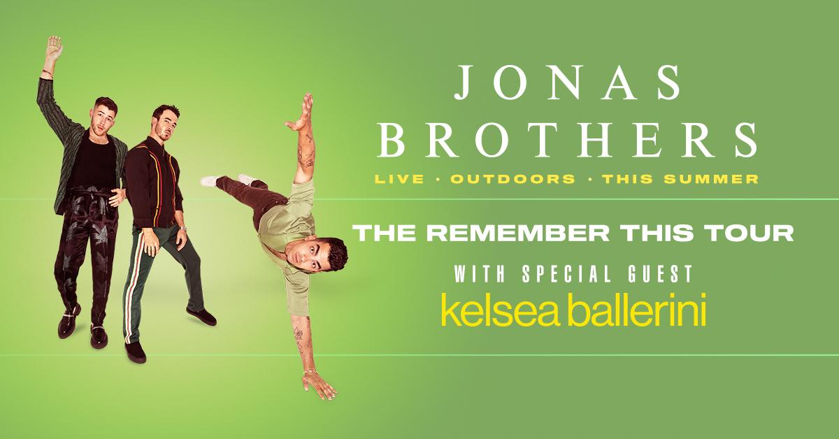 Jonas Brothers Remember This Tour Dates 2021 Calendar