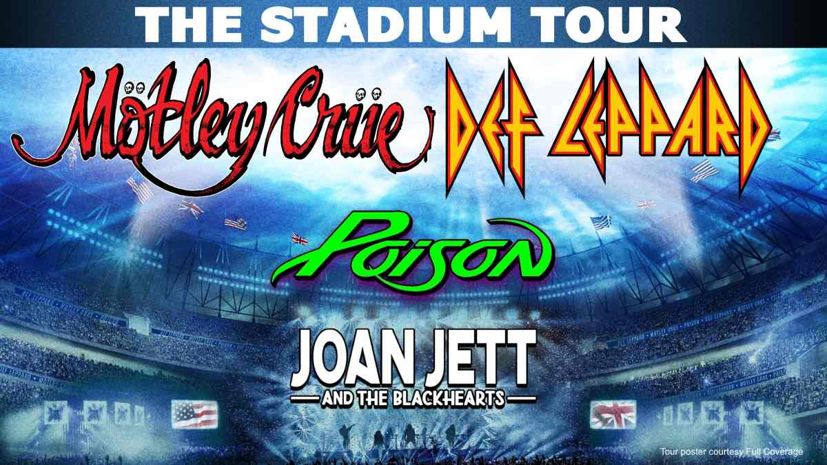 Mötley Crüe Stadium Tour 2022 Dates Calendar