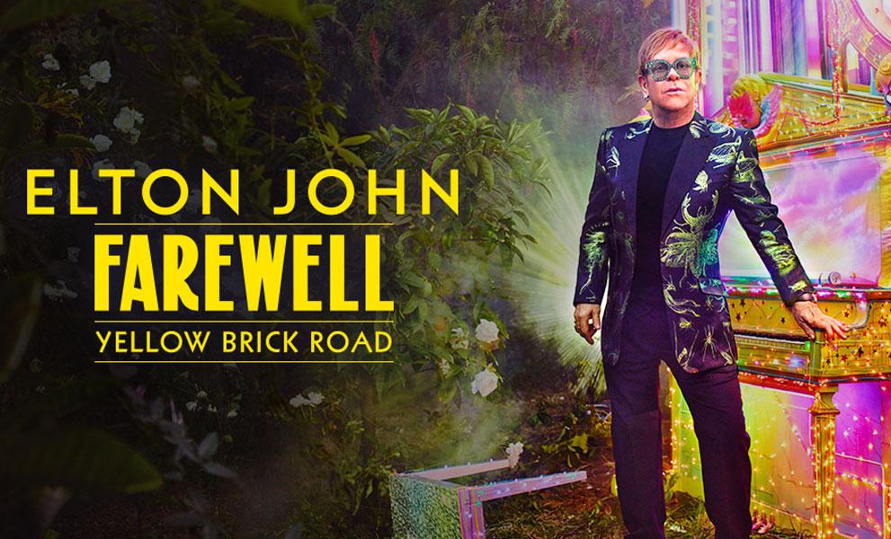Elton John Yellow Brick Road Tour Dates 2021 & 2022 Calendar