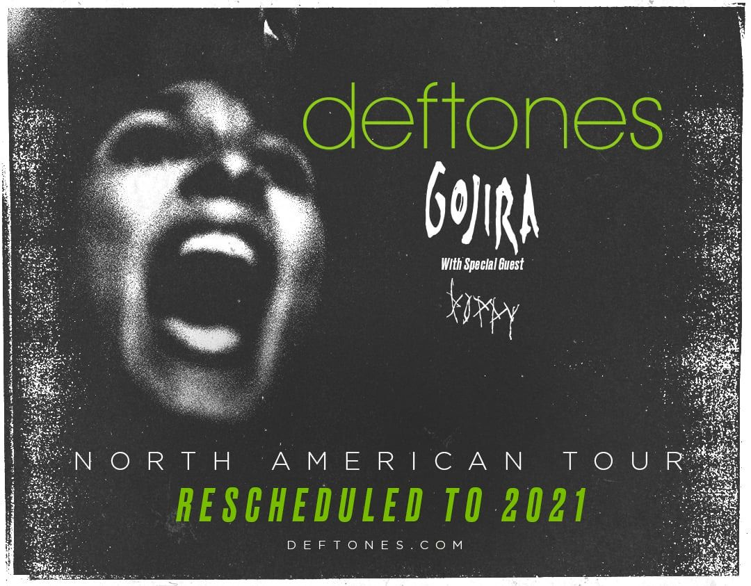 Deftones Summer Tour Dates 2021 Calendar