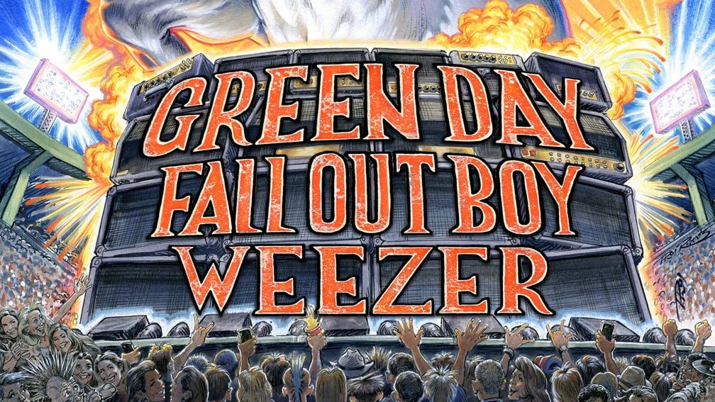 Weezer Hella Mega Tour Dates 2021 Calendar