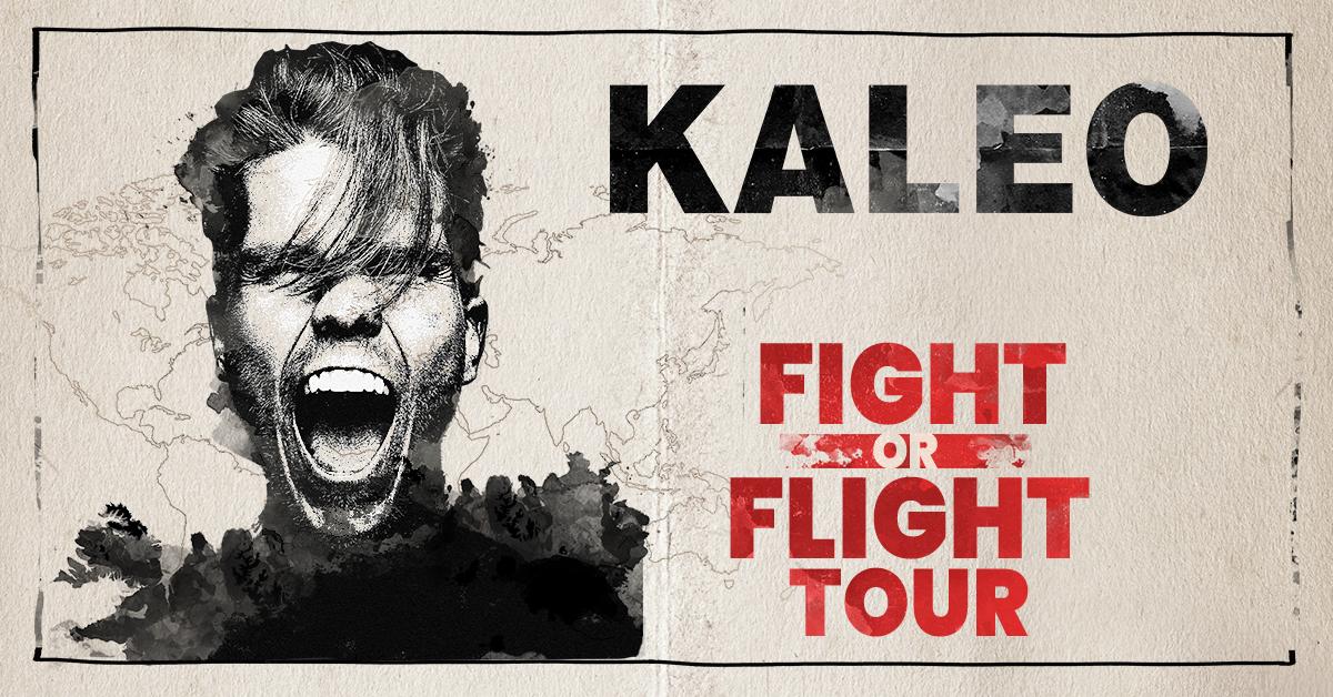 KALEO Fight or Flight Tour Dates - Rescheduled for 2021 Calendar