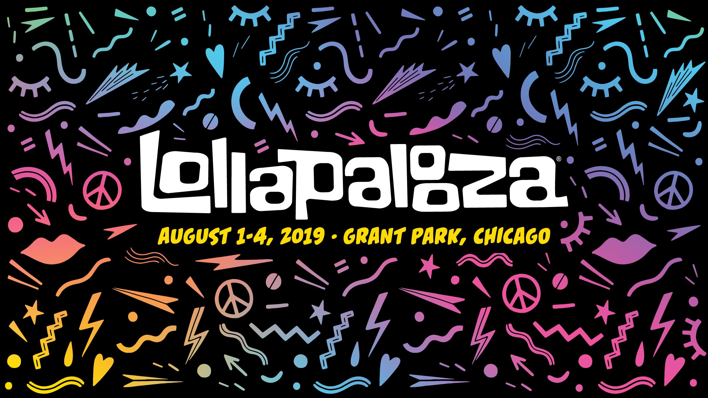 Lollapalooza 2019 Calendar