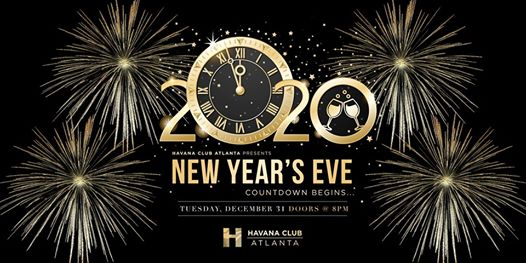new years eve 2020 at havana tuesday dec 31 2019 discotech new years eve 2020 at havana tuesday
