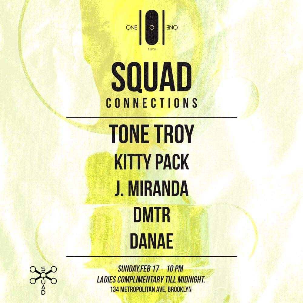 Squad Connections Presents Tone Troy Kitty Pack J Miranda