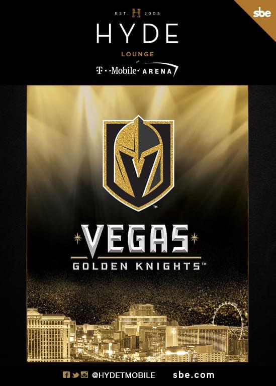 Preseason: VGK vs  LA Kings at Hyde Lounge T-Mobile Arena - Friday