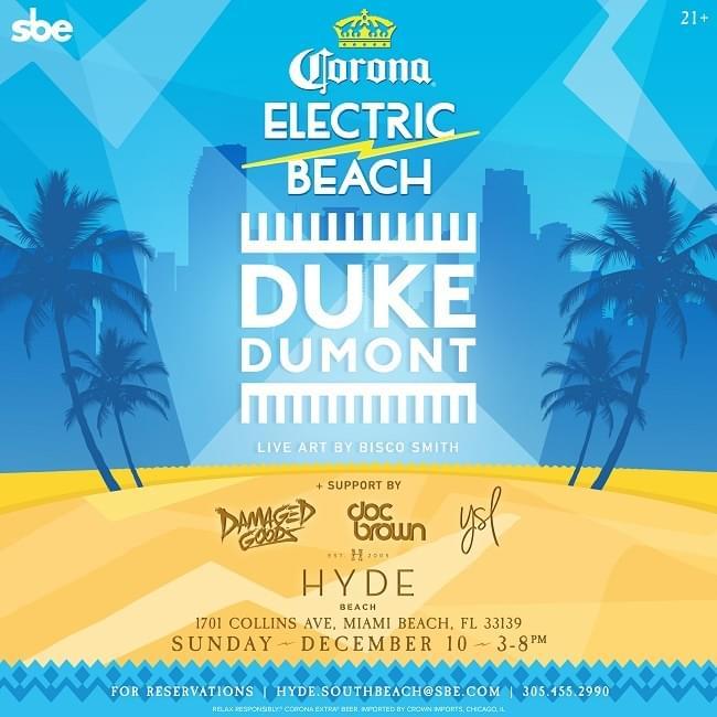 Duke Dumont @ Hyde Beach