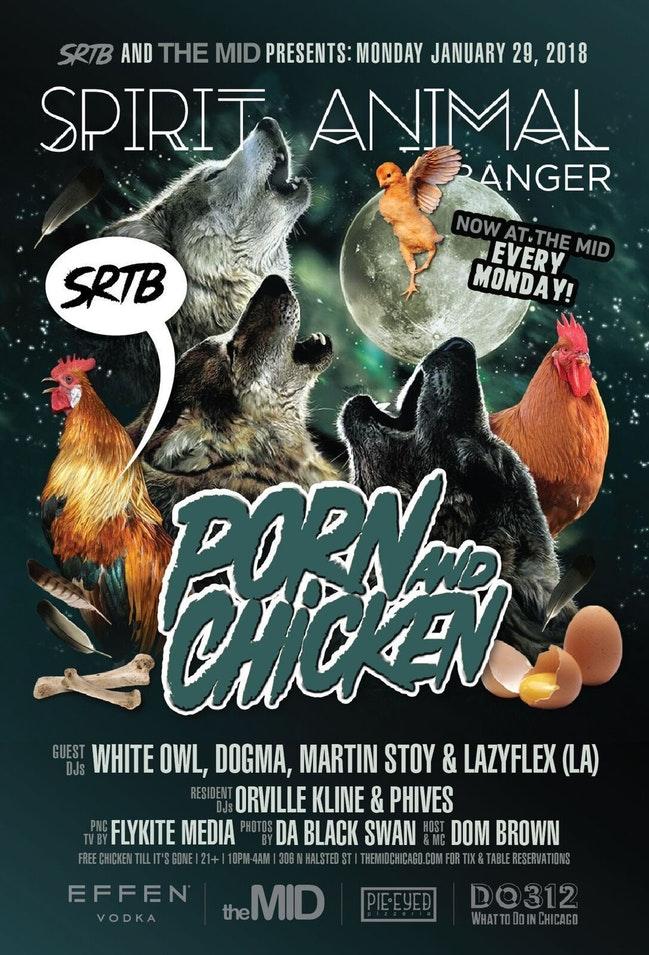Porn And Chicken: Spirit Animal Banger