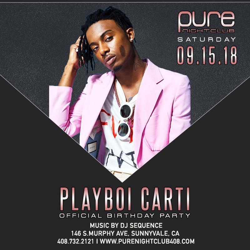 c8609762ff9cf7 Playboi Carti at Pure - Saturday
