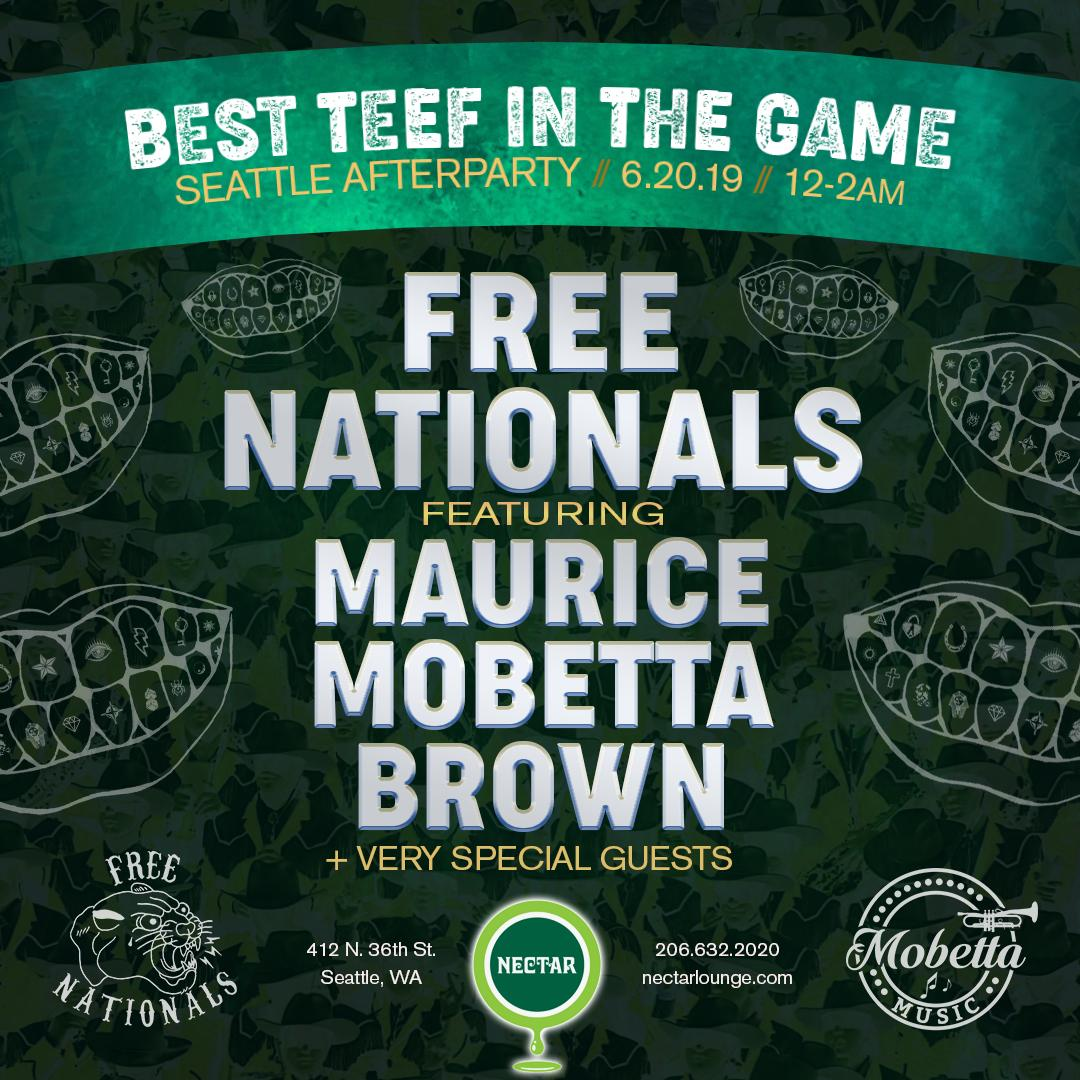 The Free Nationals Feat Very Special Surprise Guests at