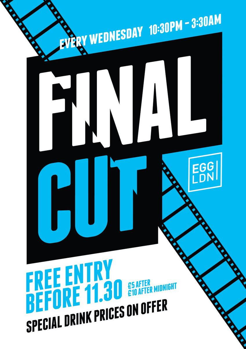 Final cut student party r b charts house and more at egg