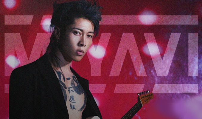 Miyavi Record Release Show At El Rey Theatre Saturday Feb 23