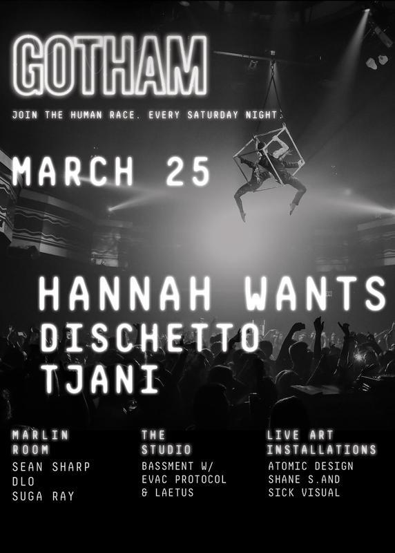 Hannah Wants & Flava D at Webster Hall - Saturday, Mar 25