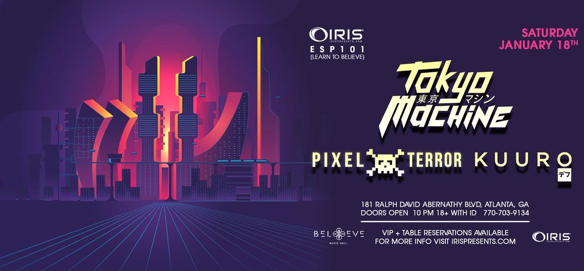 Tokyo Machine Pixel Terror Kuuro Iris Esp101