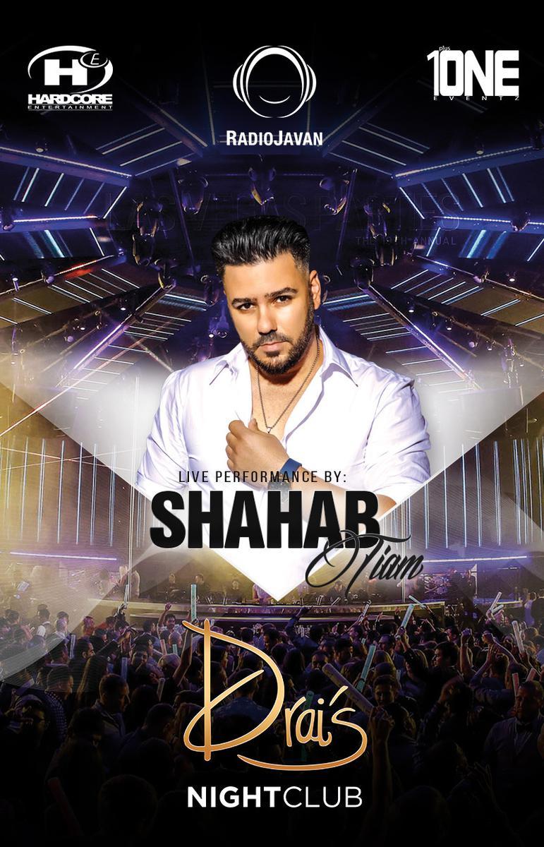 Lvp Persian Party Ft  Shahab Tiam at Drais Nightclub