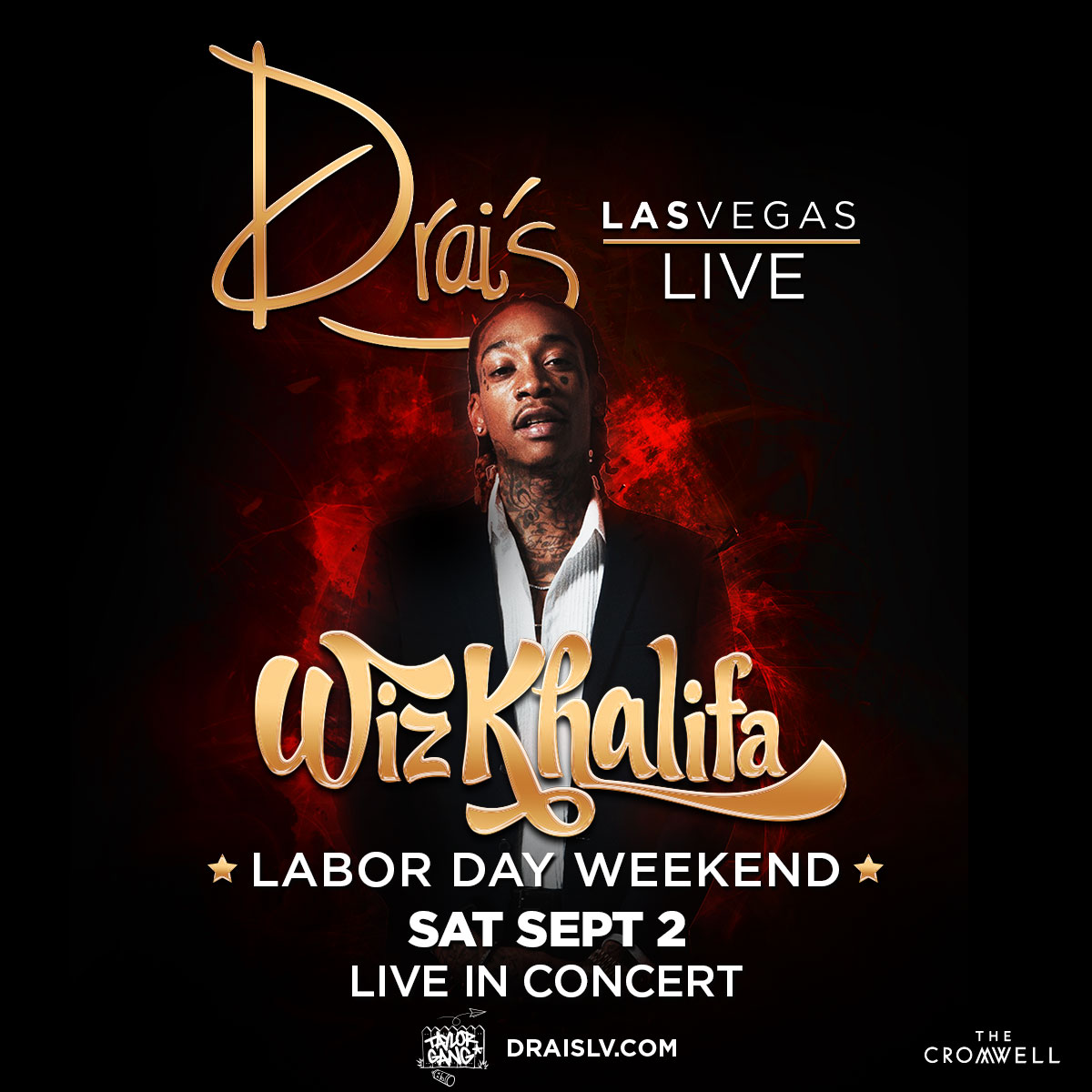 Wiz Khalifa Labor Day Weekend At Drais Nightclub Saturday Sep 2
