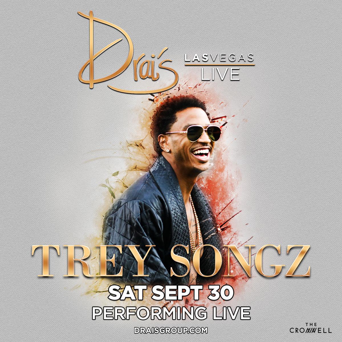Trey Songz At Drais Nightclub Saturday Sep 30 Guestlist