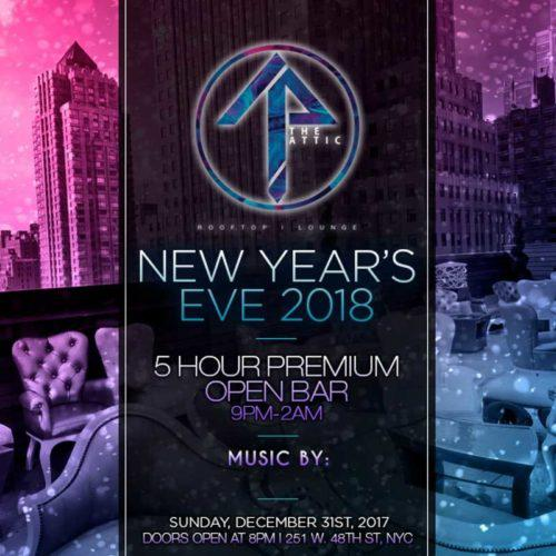 New York City Brooklyn New Year S Eve 2018 Party Guide Discotech The 1 Nightlife App