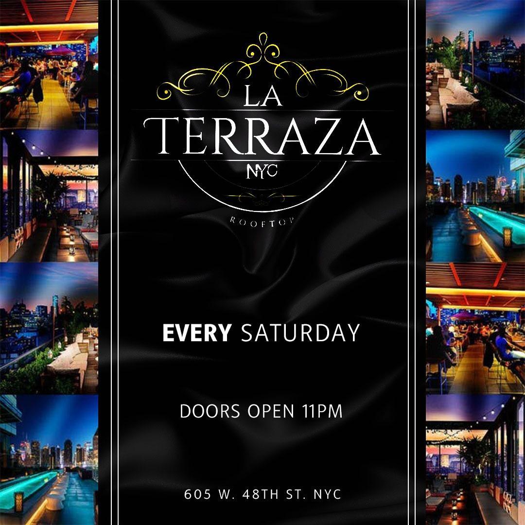La Terraza Rooftop Saturdays At La Terraza Saturday Feb 22 Guestlist Tickets And Bottle Service Discotech