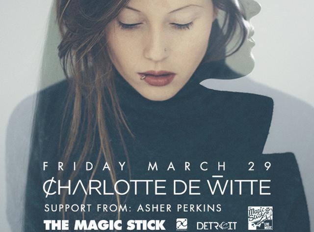 Charlotte de witte asher perkins at magic stick friday mar