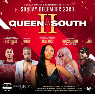 Queen Of The South Ii At Republic Sunday Dec 23 Guestlist