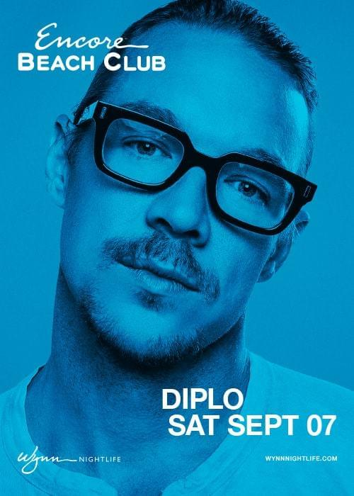 Diplo At Encore Beach Club Saturday Sep 7 Guestlist