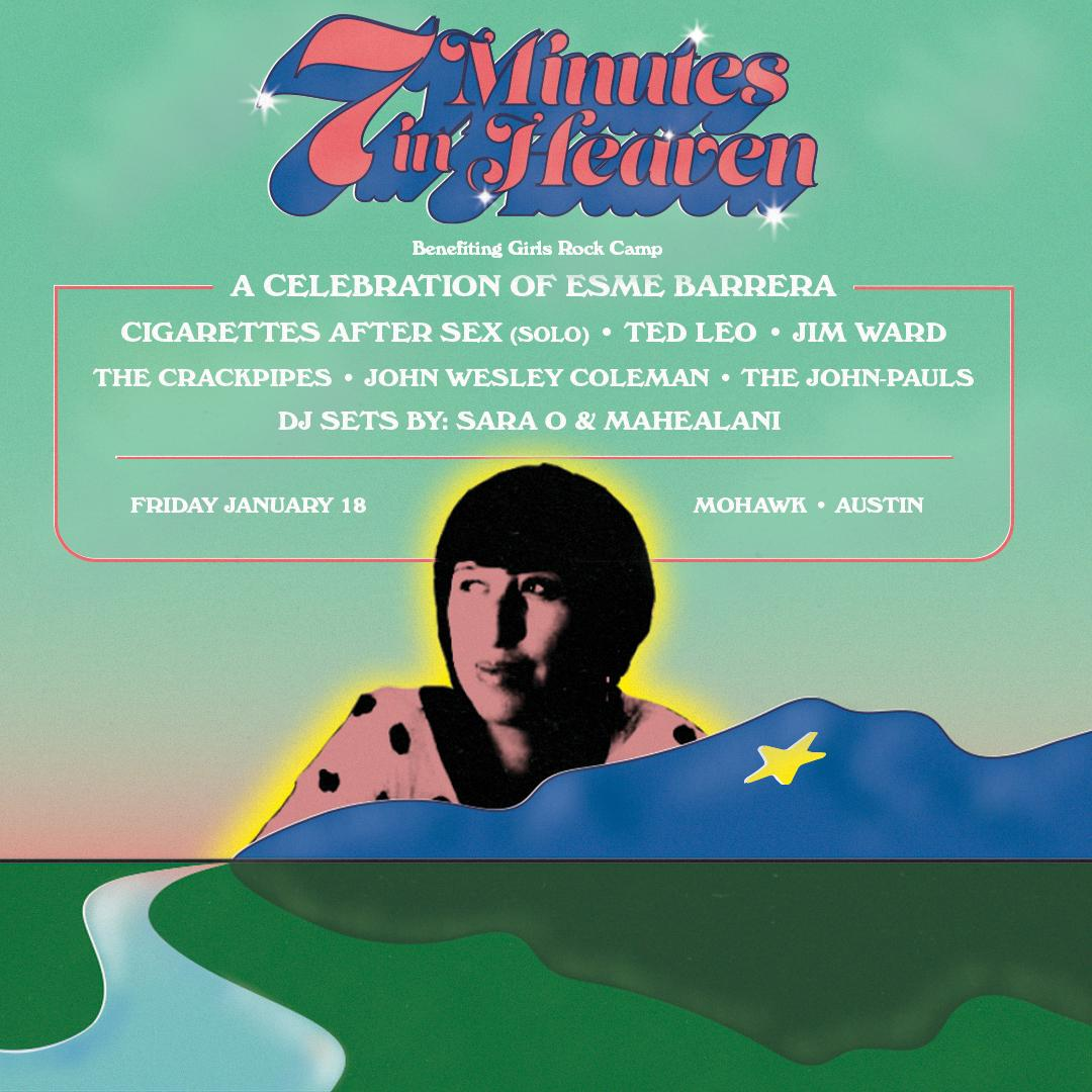 7 Minutes In Heaven A Celebration Of Esme Barrera Girls Rock Camp Benefit