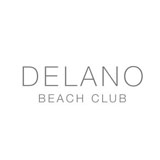 Delano Beach Club at Night logo